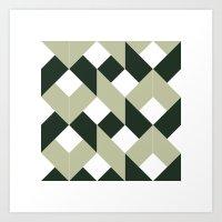 #213 Politics – Geomet… Art Print