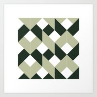 #213 Politics – Geometry Daily Art Print