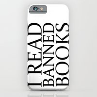 iPhone & iPod Case featuring Banned Books by Liz Shattler