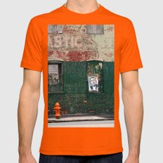 HOPE Mens Fitted Tee Orange SMALL