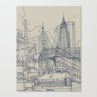 New York! Canvas Print