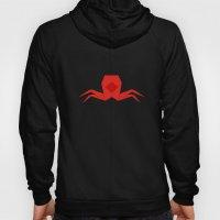 Origami Crab Hoody