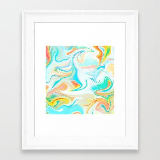 Liquid 2 Framed Art Print
