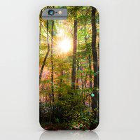 iPhone & iPod Case featuring Morning Glory by Anthony M. Davis