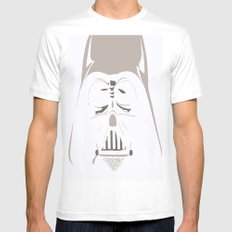 Ghost Darth Vader Mens Fitted Tee White SMALL