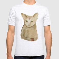 Totem Kitteh 1 Mens Fitted Tee Ash Grey SMALL