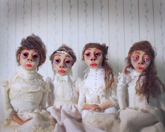 The Mesmerist's Daughters Art Print