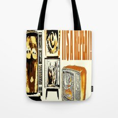 Throw away your television  Tote Bag