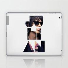 Julian Casablancas The Strokes Font Sunglasses Laptop & iPad Skin