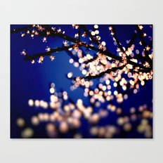 Fairy Lights Canvas Print