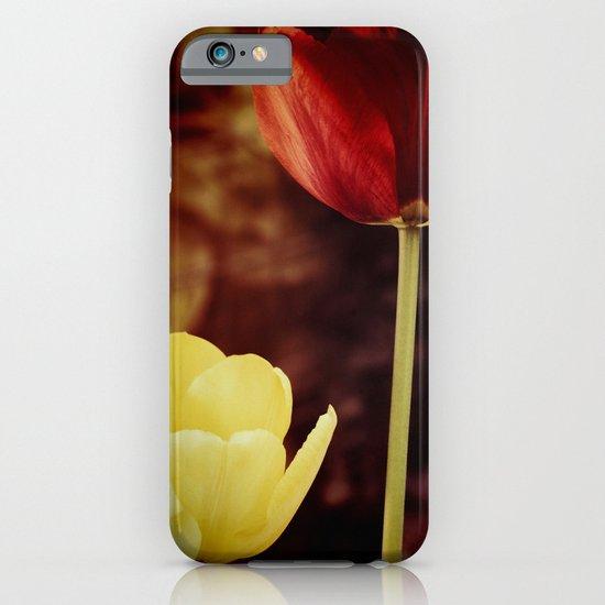 Tulips at dusk iPhone & iPod Case