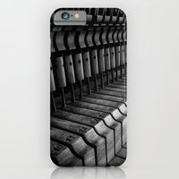 iPhone & iPod Case featuring Silent Piano Keys by John Dunbar
