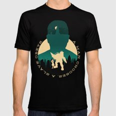 Bioshock Black Mens Fitted Tee SMALL