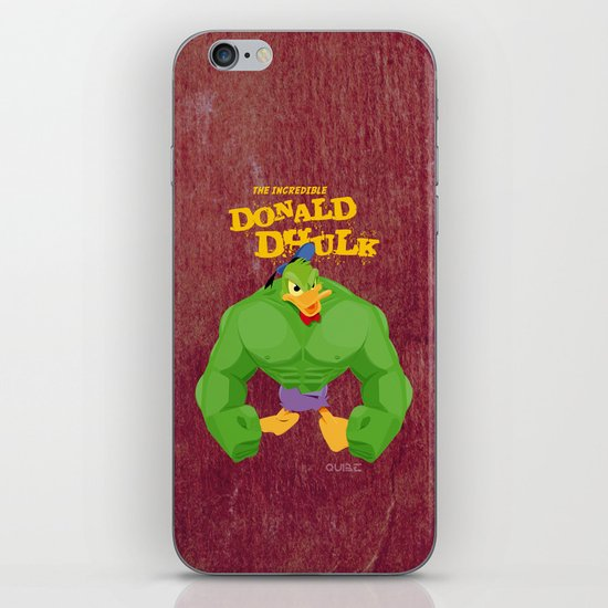 coupling up (accouplés) Donald Dhulk iPhone & iPod Skin