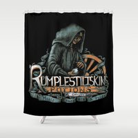 Rumplestiltskin Shower Curtain