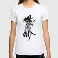 Hiding Place Womens Fitted Tee Ash Grey SMALL