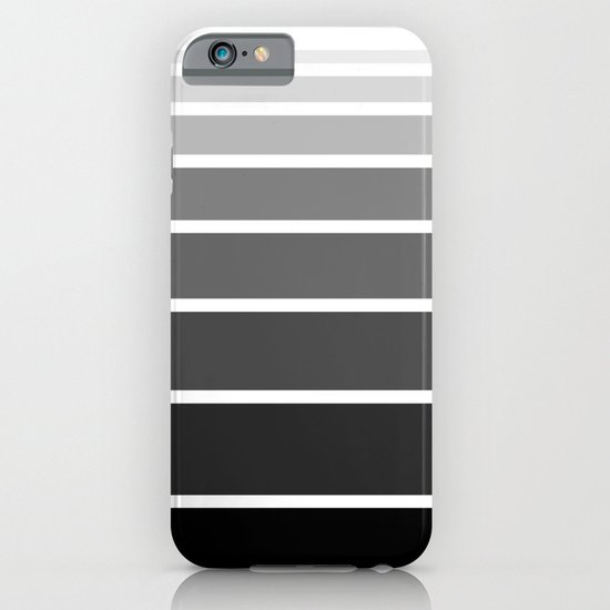 Ombre Black to White Gradient  iPhone & iPod Case