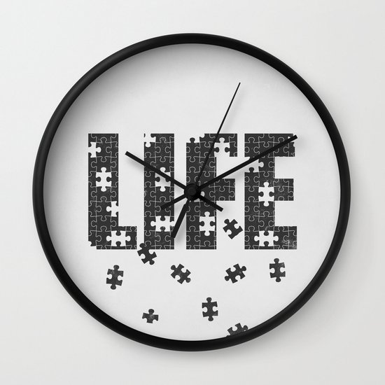 Lets Play a Game Wall Clock