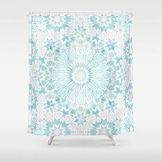 Fez Moroccan Tiles {4E} Shower Curtain
