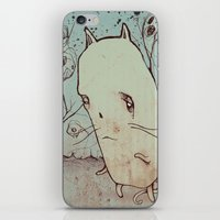 Ghost Cat iPhone & iPod Skin