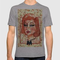 Marilyn Monre Mens Fitted Tee Athletic Grey SMALL