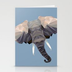 E is for Elephant Stationery Cards