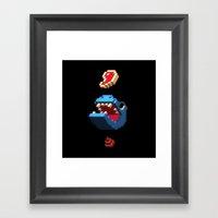 Feed The Beast Framed Art Print