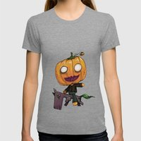 The Headless HorseBob Womens Fitted Tee Tri-Grey SMALL