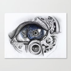 Mechanical Eye Canvas Print