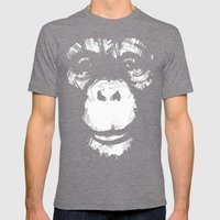 Everything's More Fun Wi… Mens Fitted Tee Tri-Grey SMALL