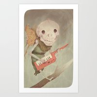 Little Guy Art Print