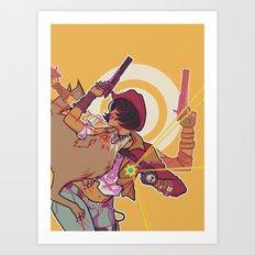 lawbringer Art Print