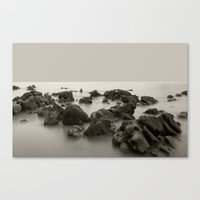 The sound of water Canvas Print