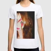 Blood + Lipstick Womens Fitted Tee Ash Grey SMALL