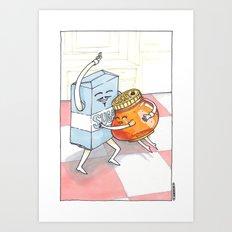 Honey, Sugar, Sugar Art Print