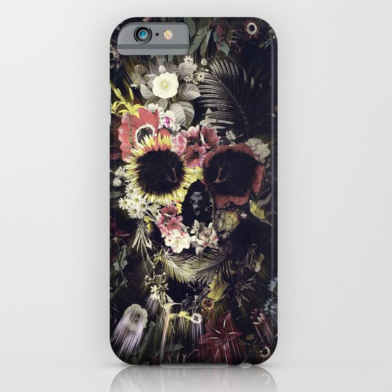 Garden Skull iPhone & iPod Case