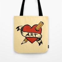 In Love With Art Tote Bag