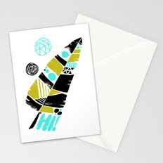 Feather Greeting Stationery Cards