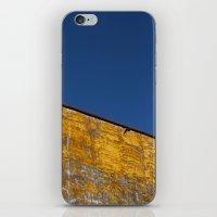 Yellow-blue iPhone & iPod Skin