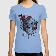 Beneath the Surface Womens Fitted Tee Athletic Blue SMALL