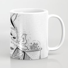 birdhouse head Mug