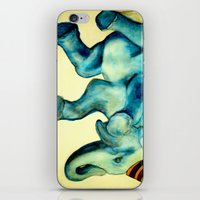 Party Elephant No. 3 iPhone & iPod Skin