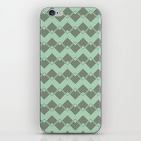 Mint Geometric Art Deco … iPhone & iPod Skin