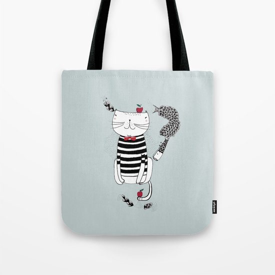 Happy in my harbour Tote Bag