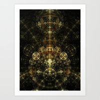 Matrix Art Print