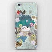 Kokeshina - Hiver / Winter iPhone & iPod Skin