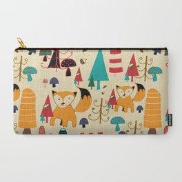 Carry-All Pouch - woodland fox - BruxaMagica_susycosta