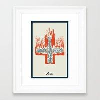 Arriba Framed Art Print