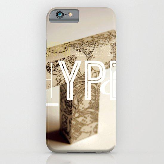 Typographic Hype iPhone & iPod Case