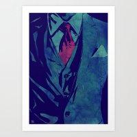 Gentleman Art Print